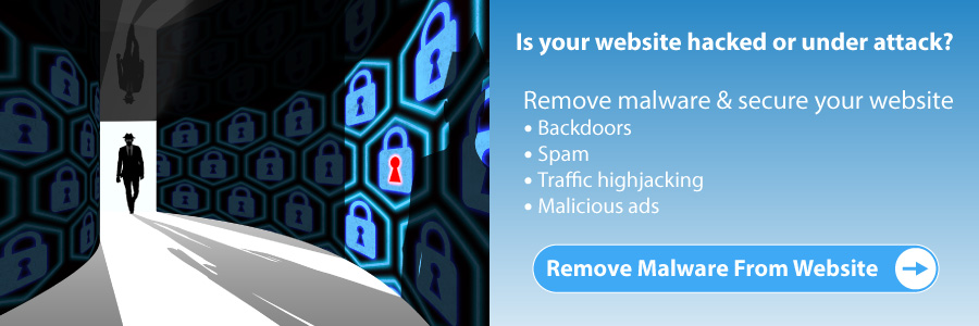 Hacked websites cleanup and malware removal